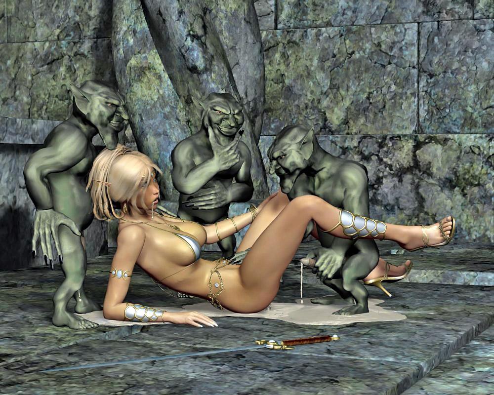 Порно пленница диких тварей