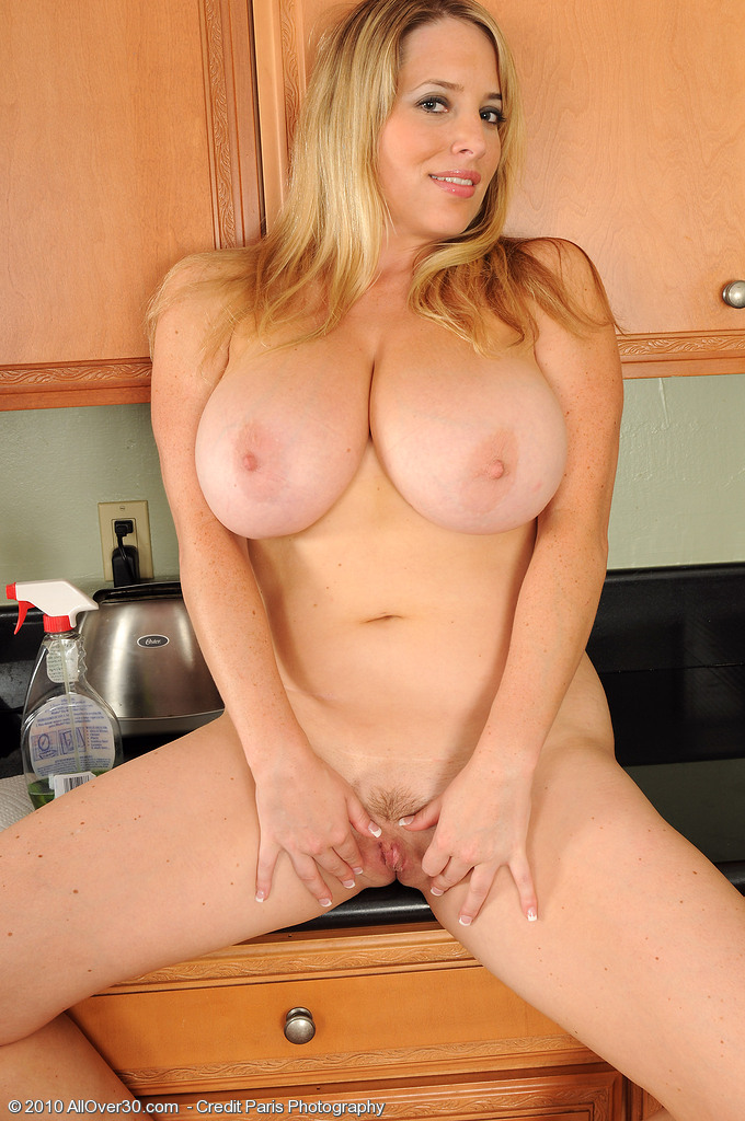 Big Tit Blonde Latina Milf