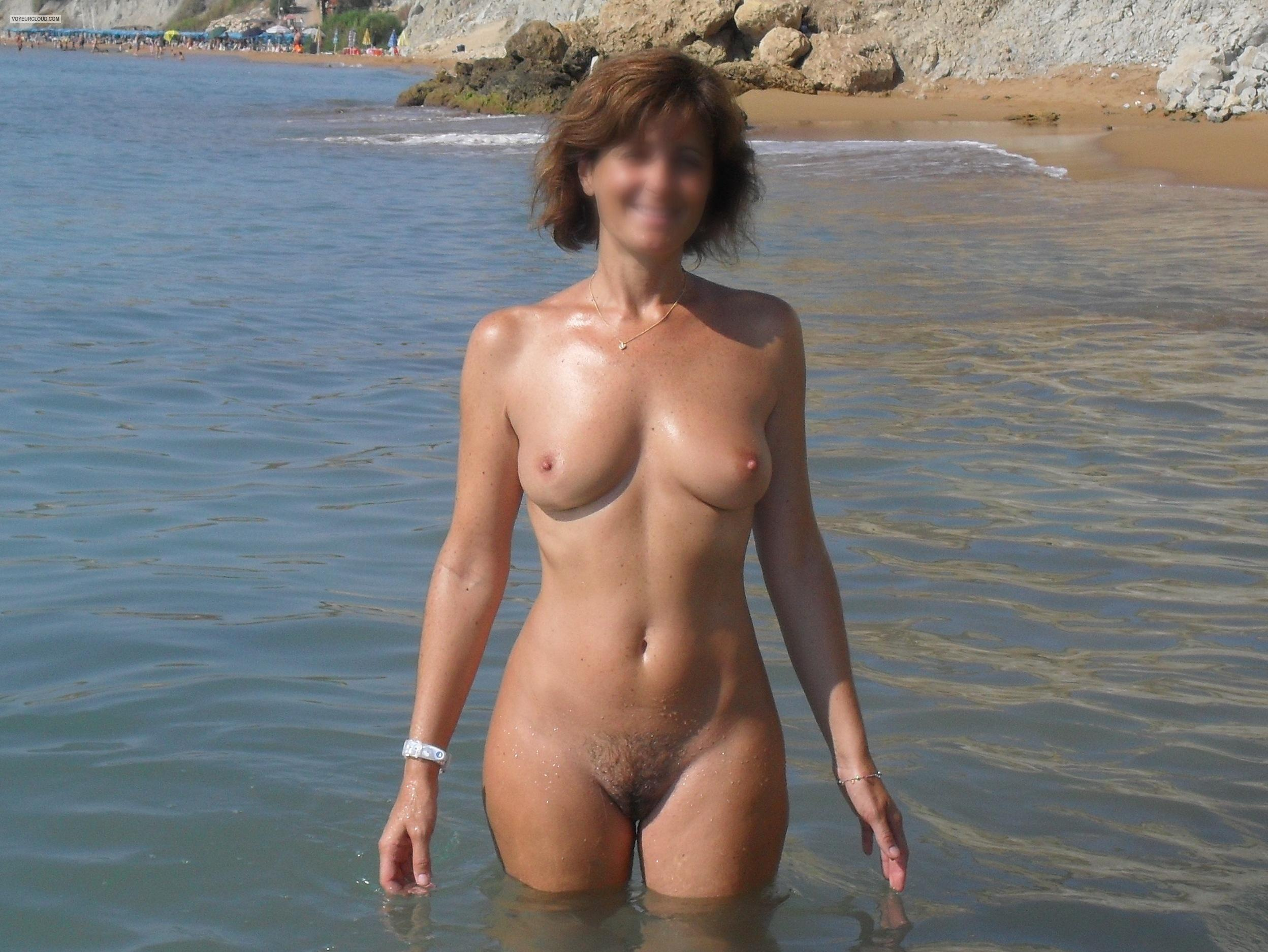 Understand you. Hot nude wife on beach