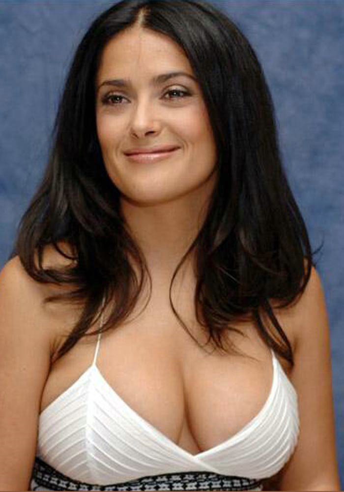 Beautiful Big Breast Image Beautiful Breasts Salma Hayek Salmahayek
