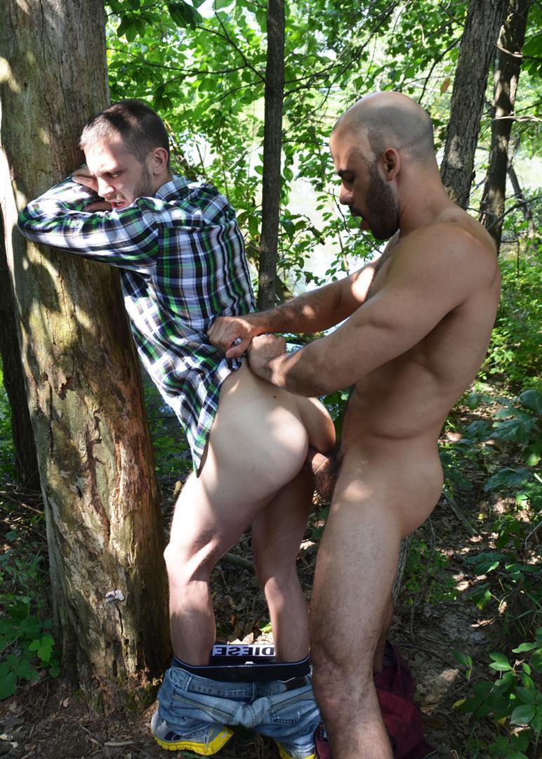 Порно Геи Сосут В Лесу