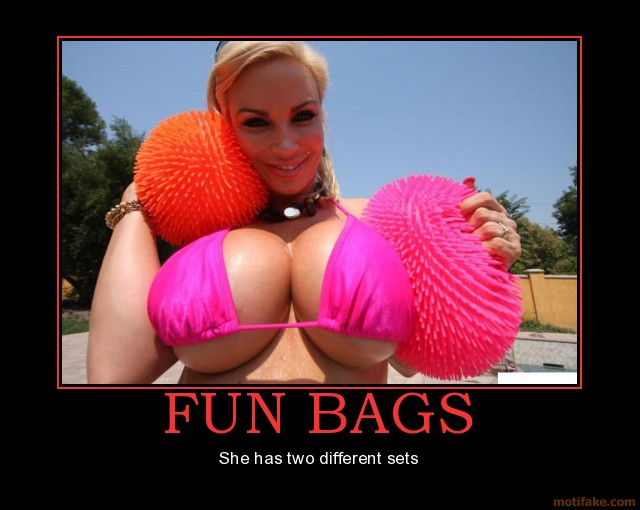 big boobs pics pics demotivational poster boobs fun bags