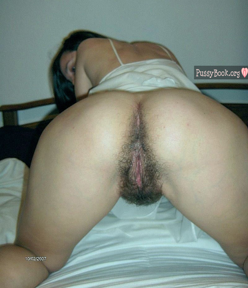 Butt female hairy