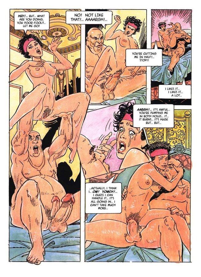 Порно Комикс Про Девственниц
