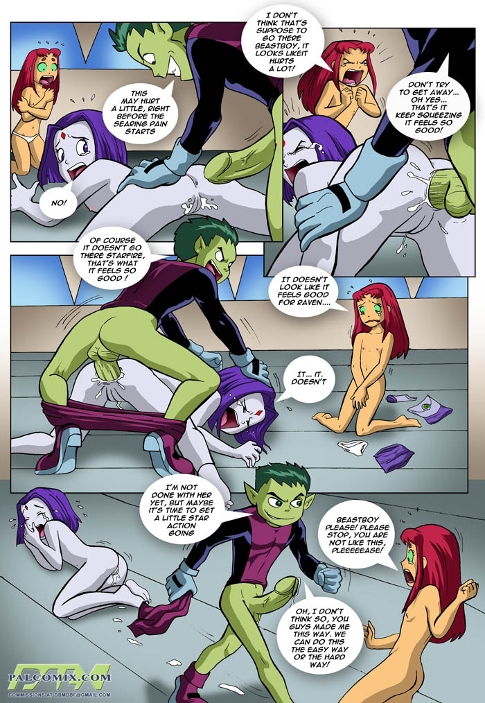 Teen Titan Comic Porn