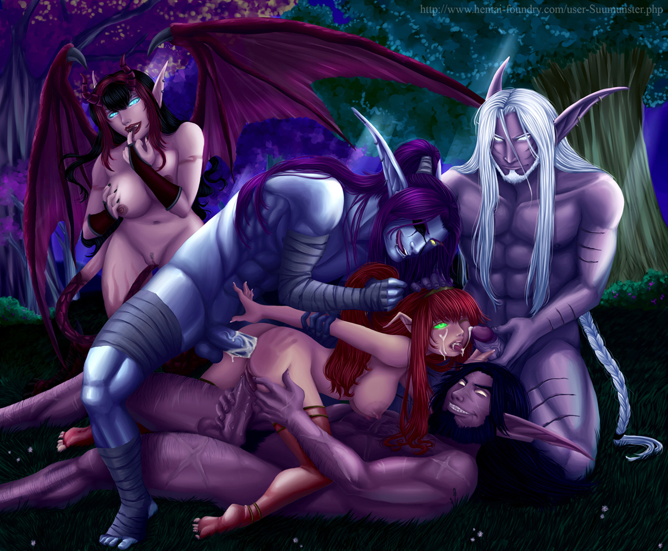 World of warcraft porn videos night elves hentai scenes