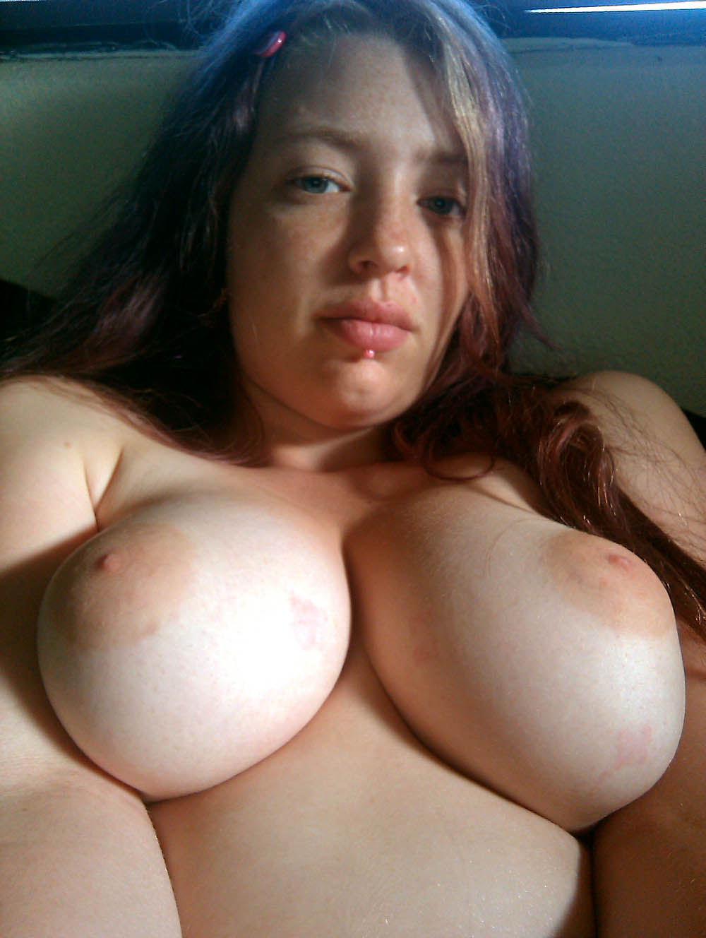 Young lady big boobs
