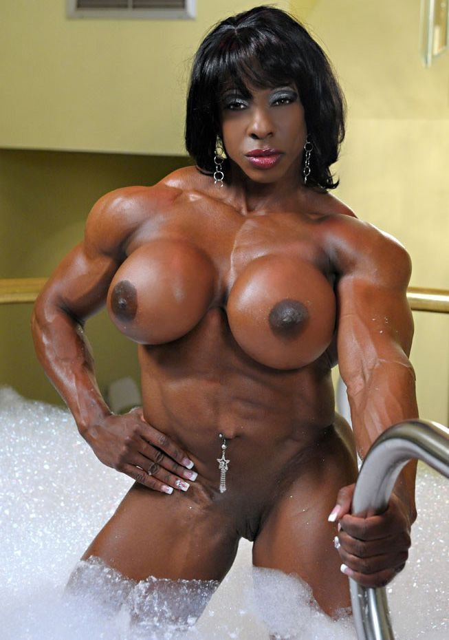 Accept. black muscle female bodybuilder opinion you