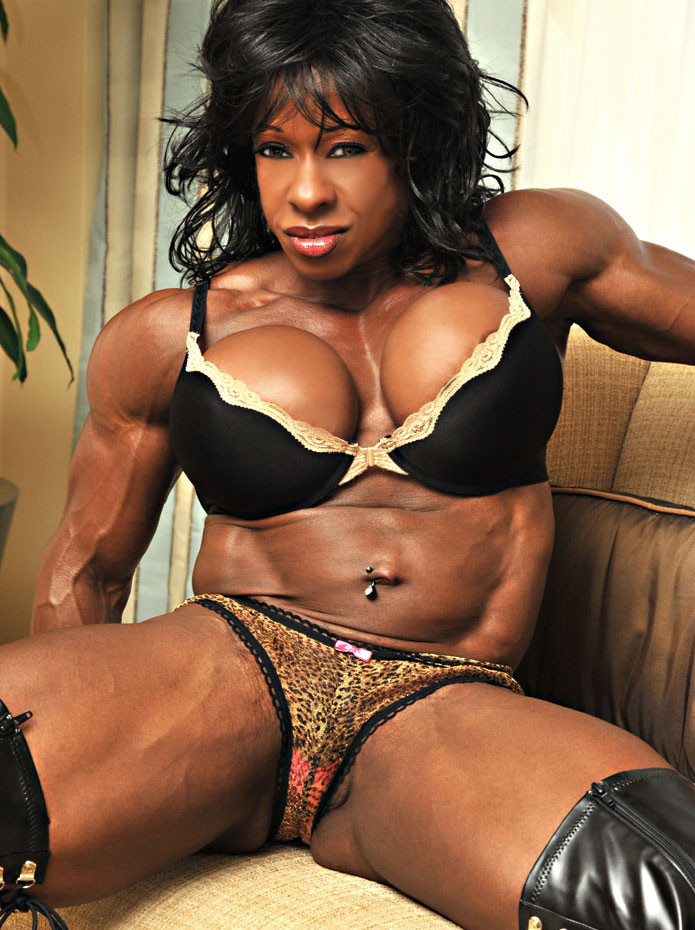sex woman ebony muscle