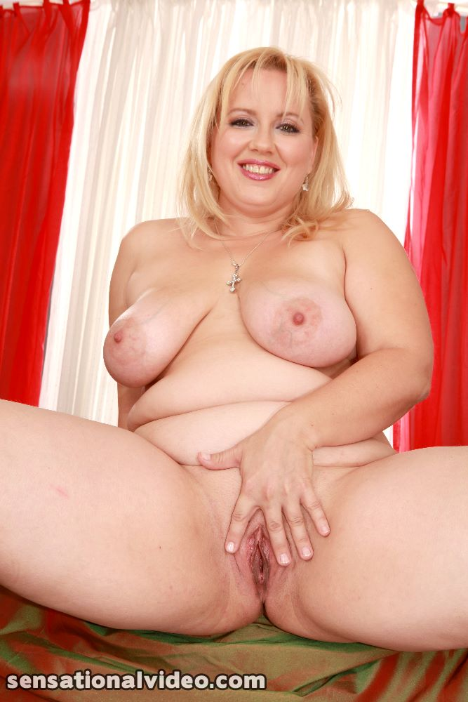 Right! think, Beautiful fat blonde naked