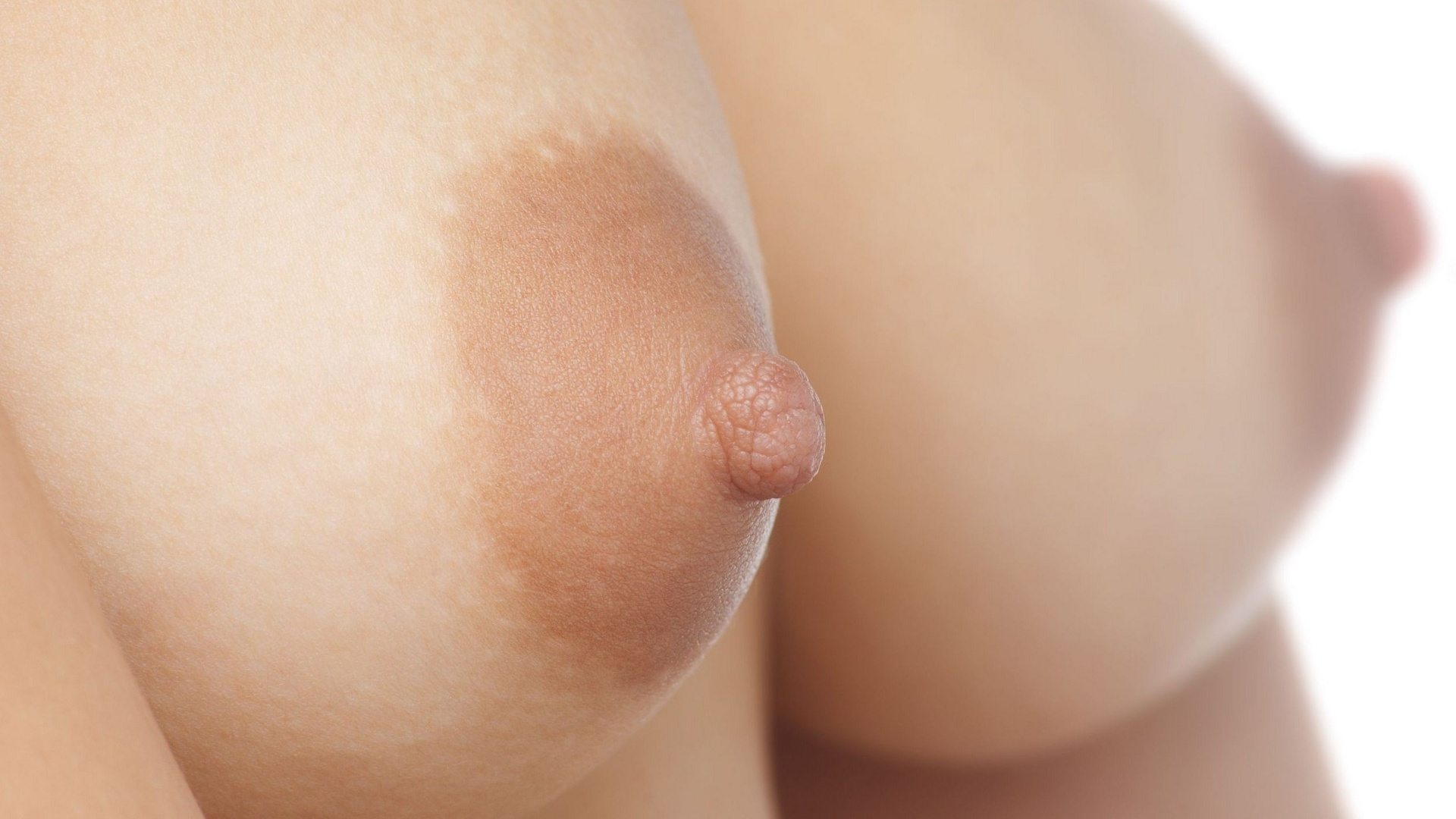 Bidnaked boobs close up