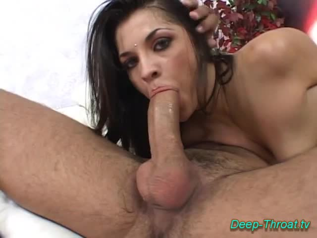Oral sex deep throat porn did