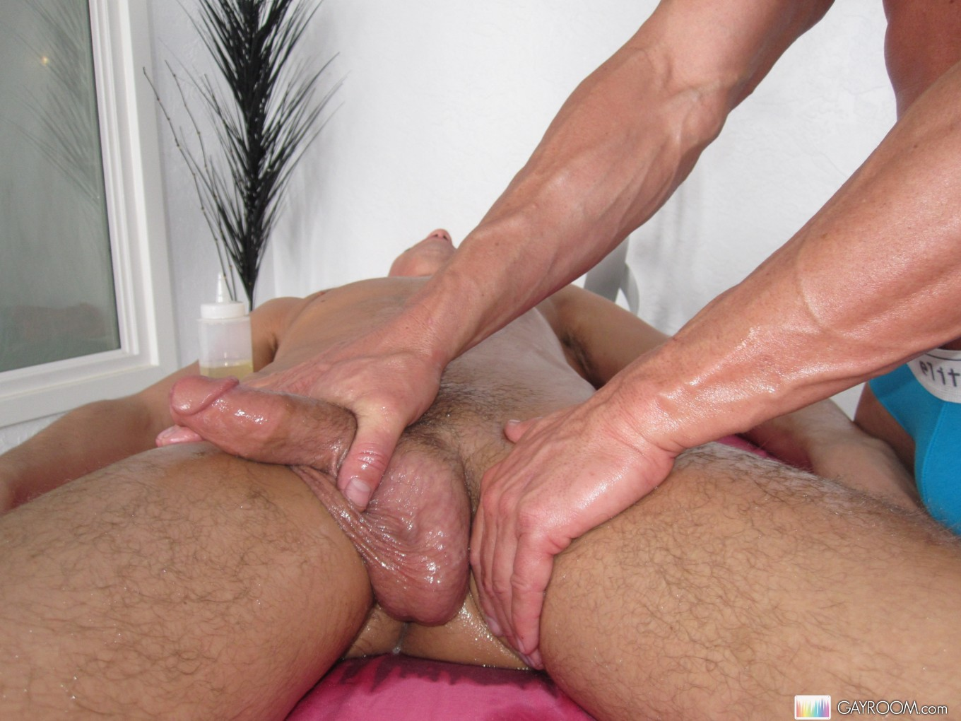 Big dick gay massage