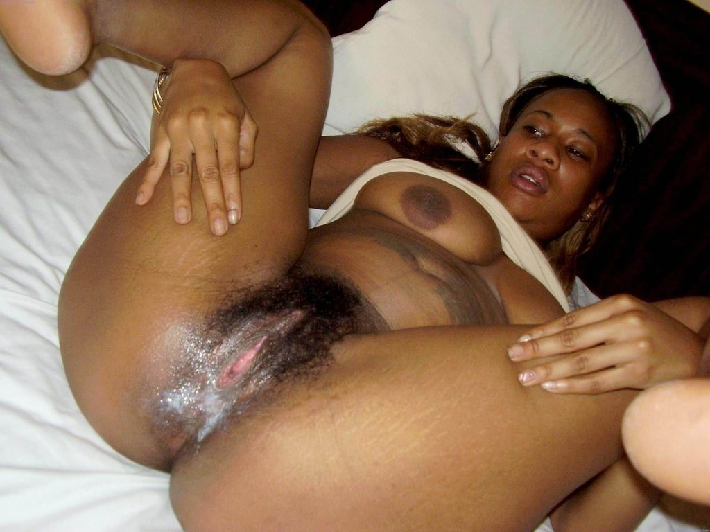 Fat Ebony White Cock