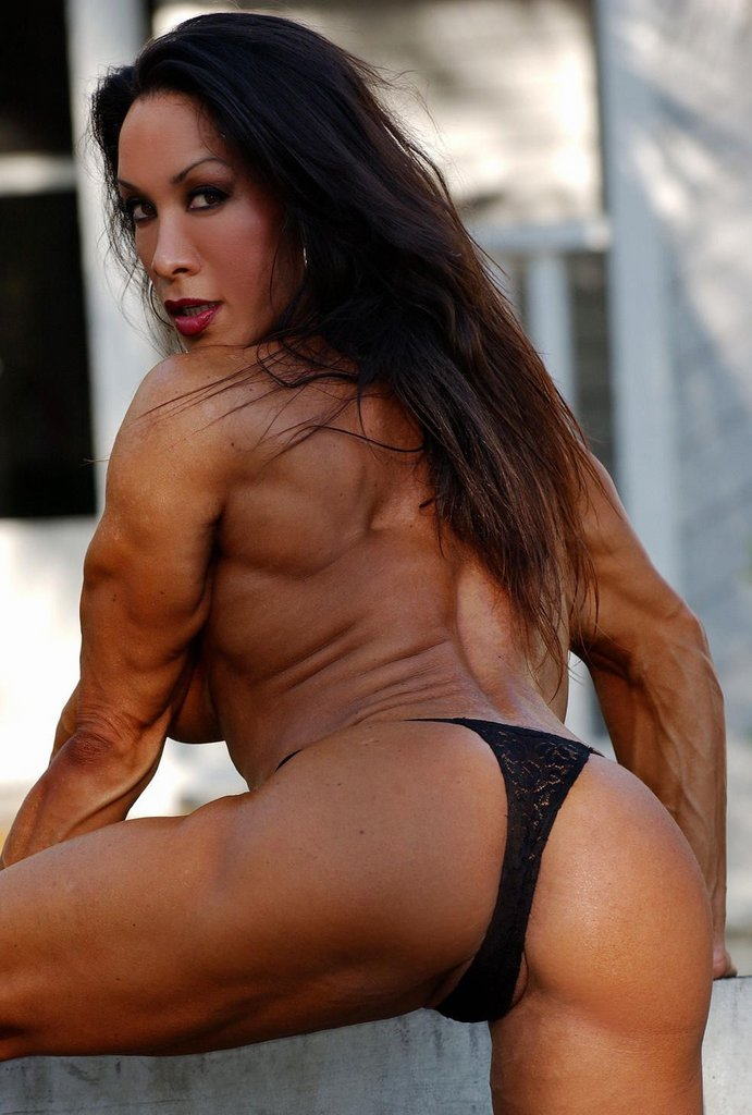 muscle girl hot sex