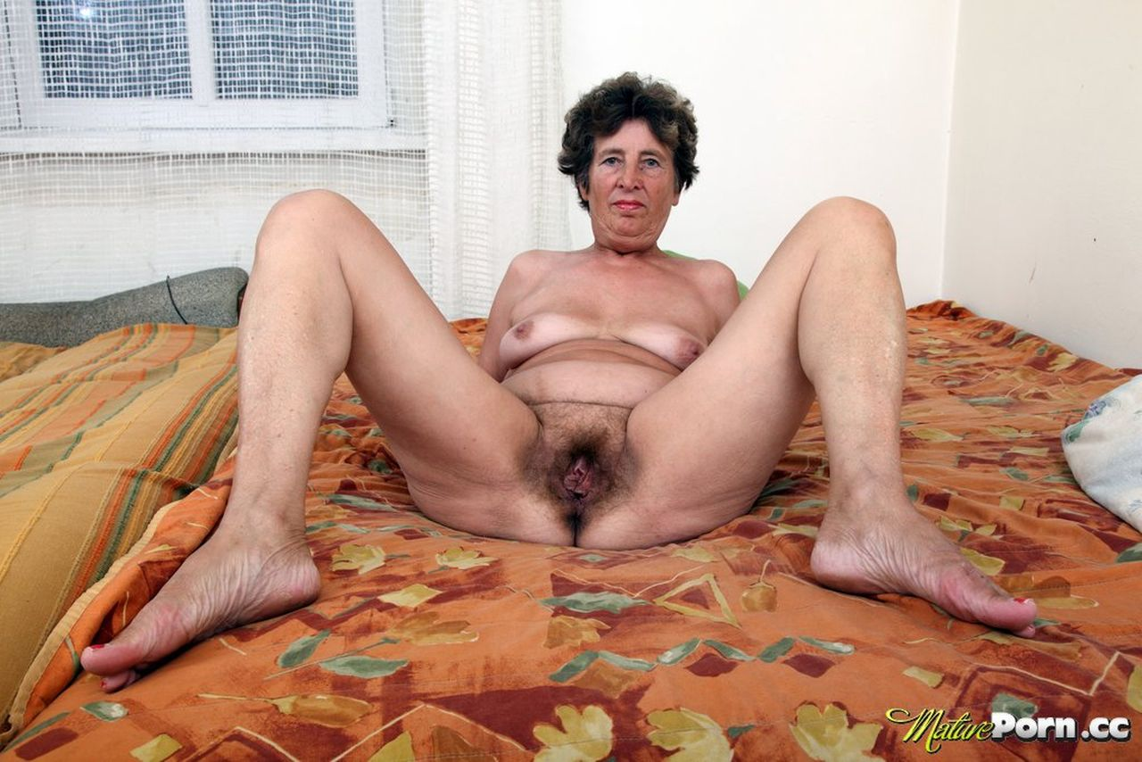 Black old woman having sex