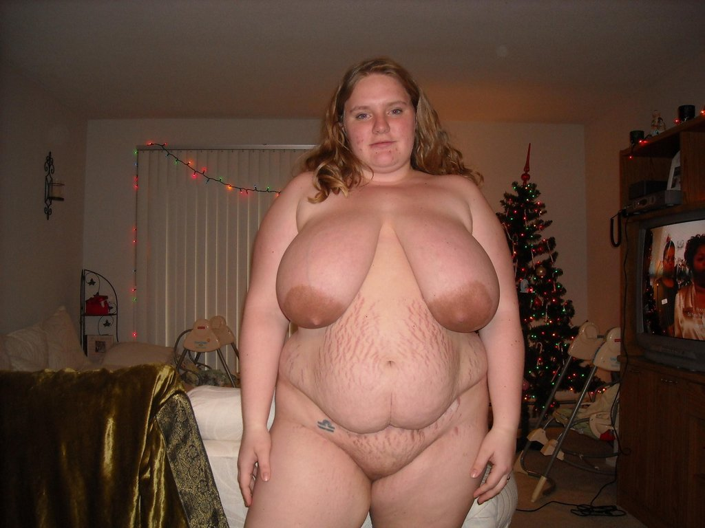 nude fat women black