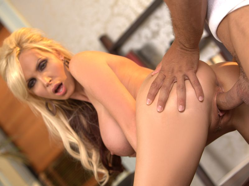Hot blonde huge tits fucked