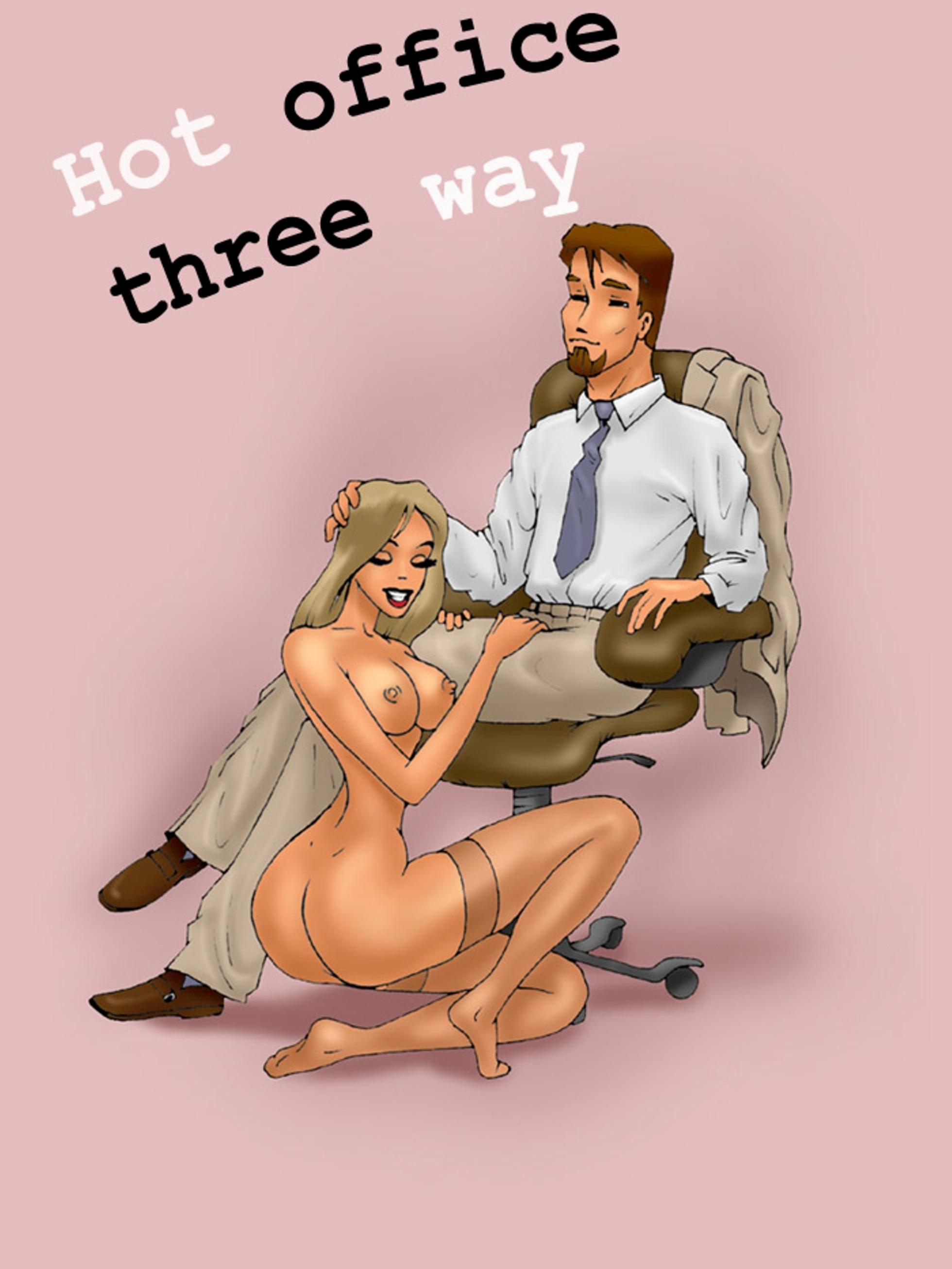Секс мультики в офисе 4 фотография