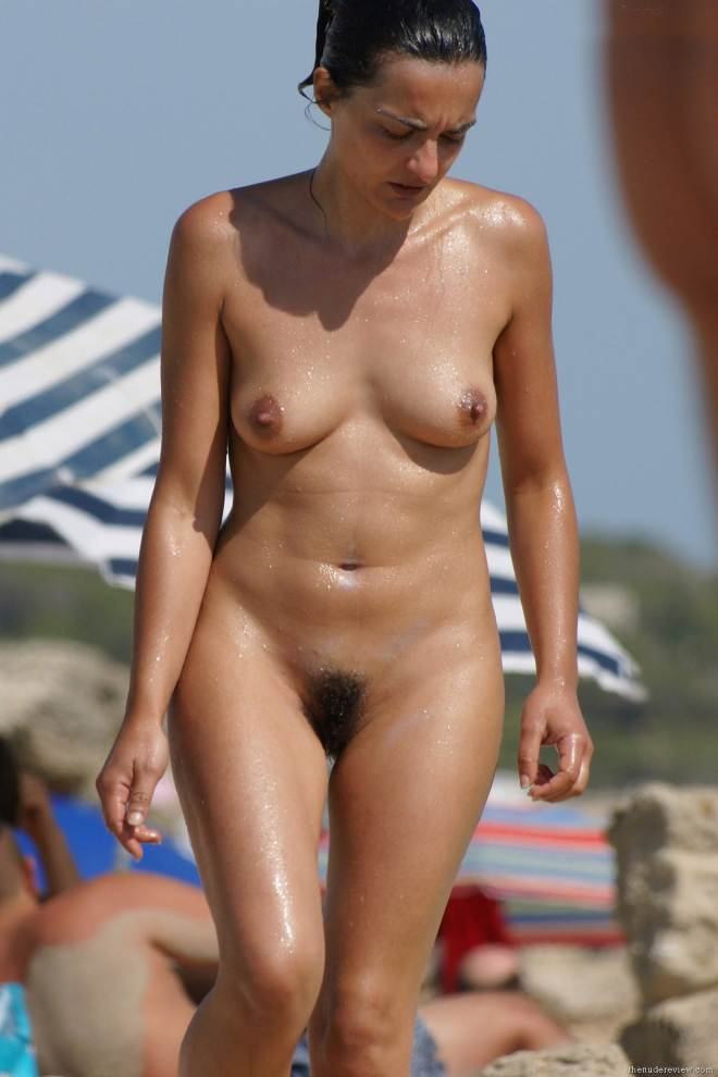 Beach nude big Indian