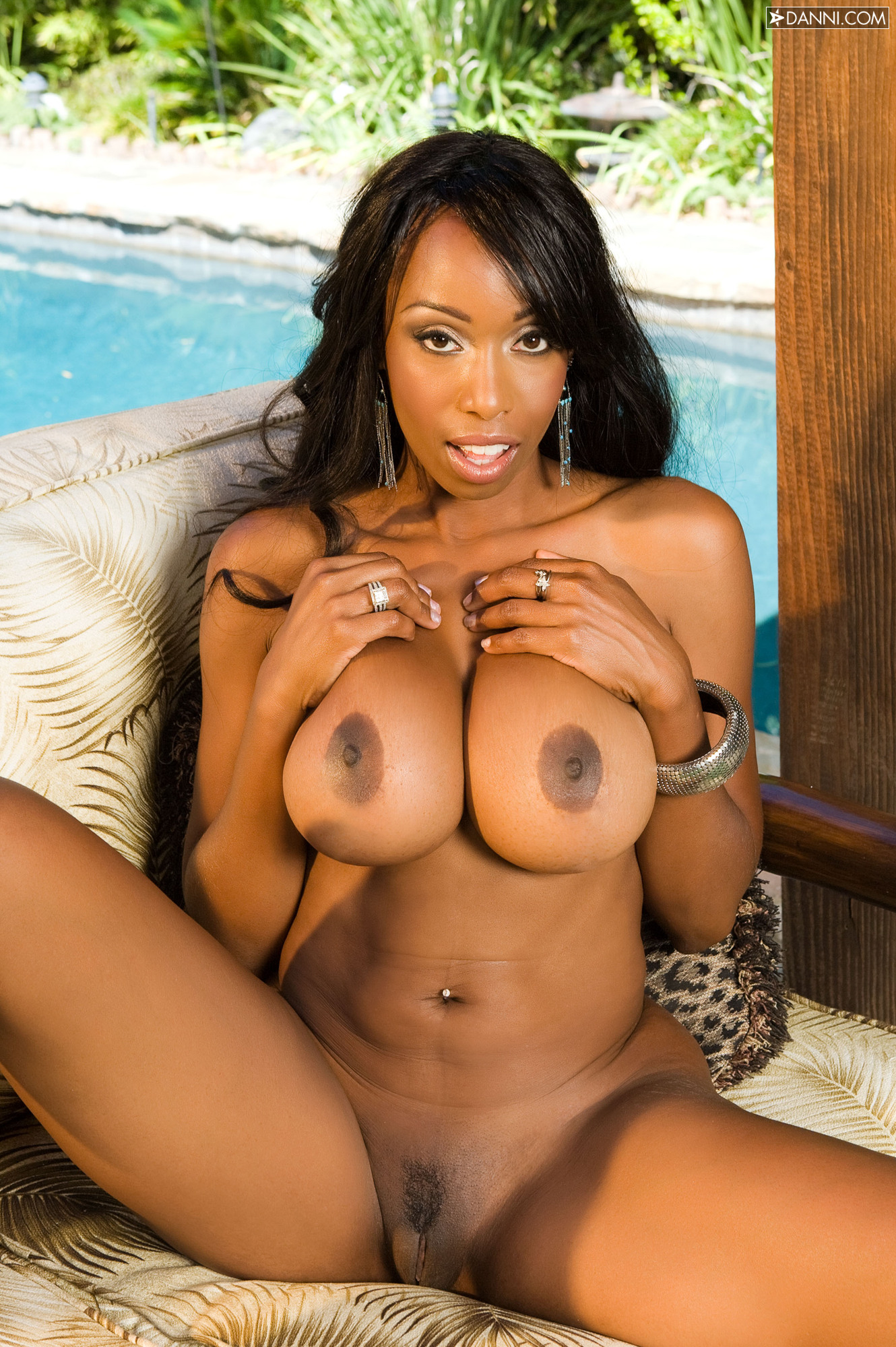 Black female pornstar naked