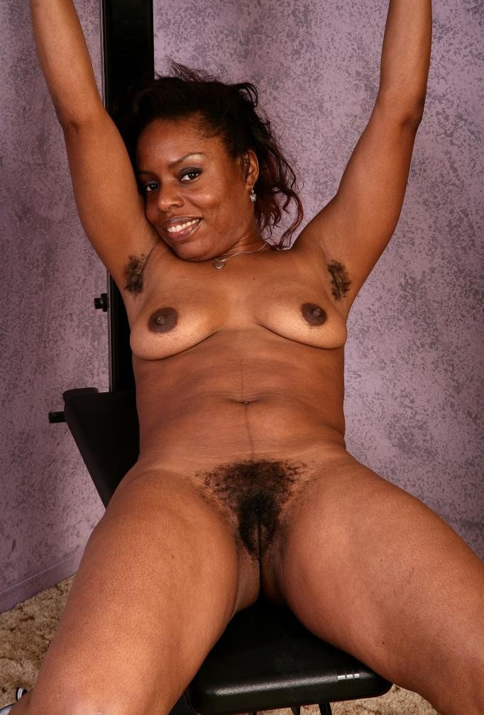 Black nude woman adult