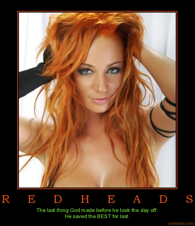 hot red head pics hot redhead pin demotivational poster love being redheads ups