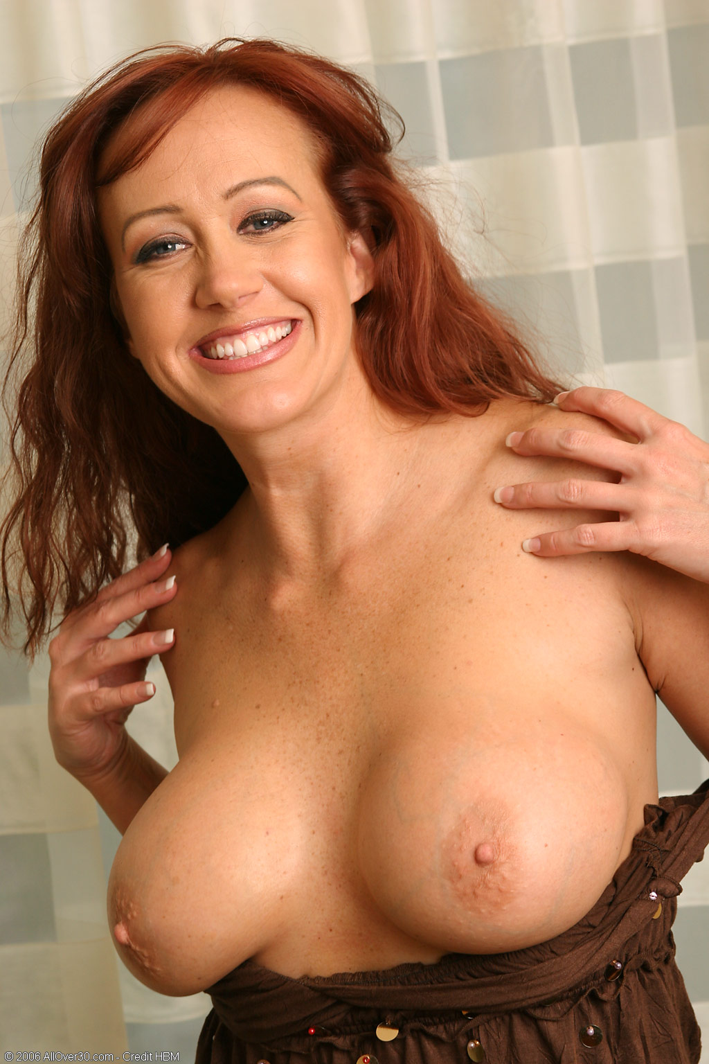 Charming red hair mature woman sexy tube consider