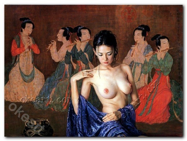 naked oriental ladies free girl sexy nude oriental price pop shipping arts font wsphoto canvas decorative prints