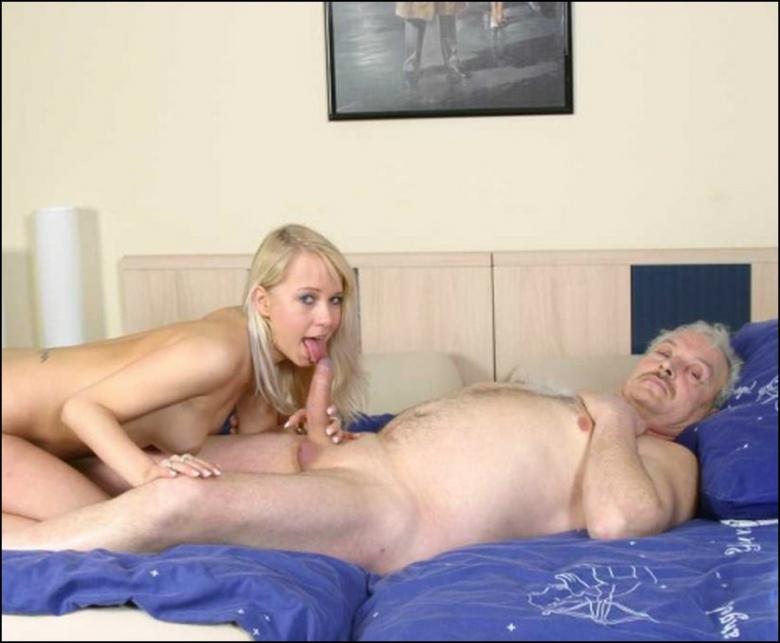 Фото девушка и дедушка секс