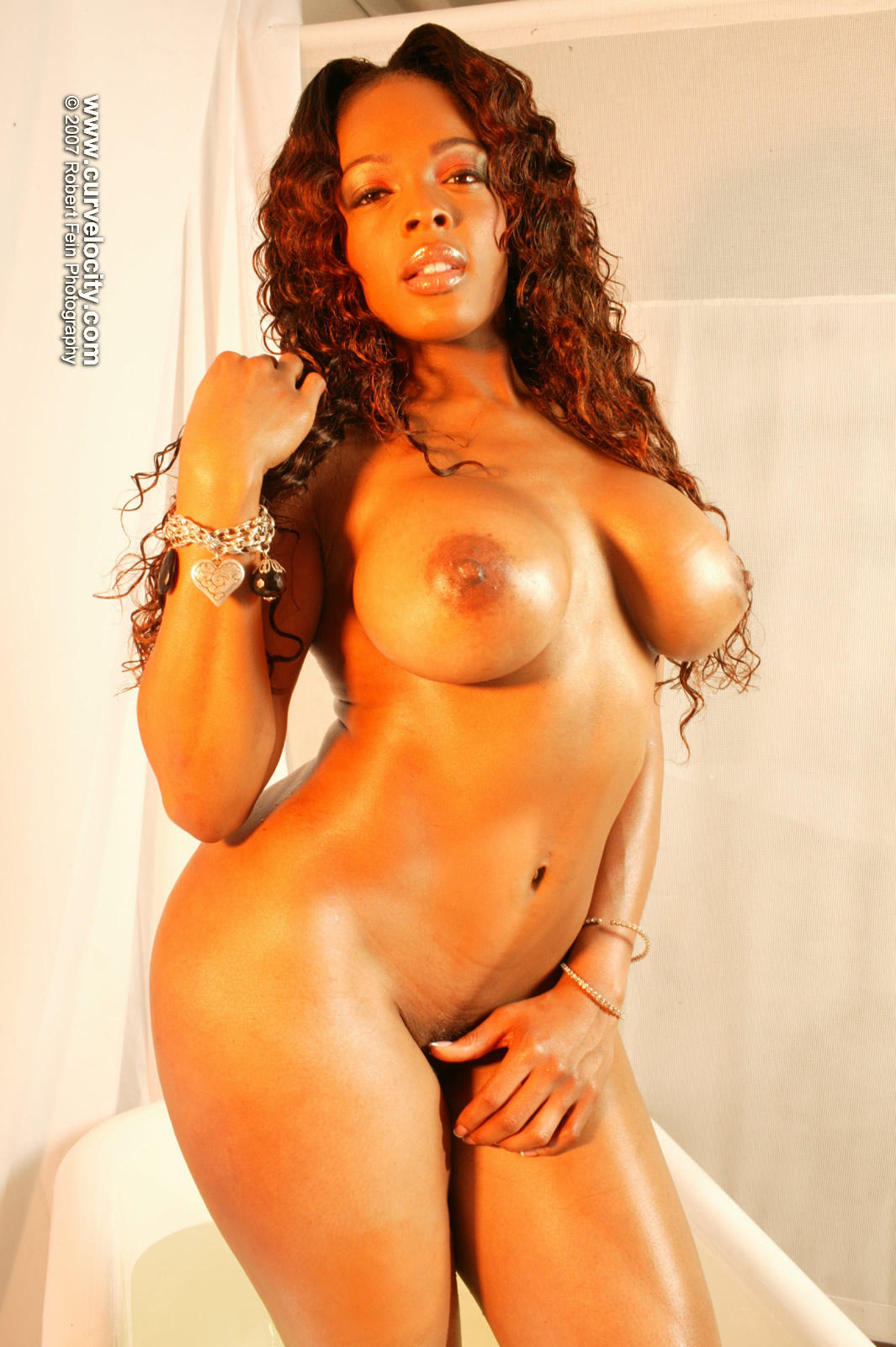 Nude black models ebony
