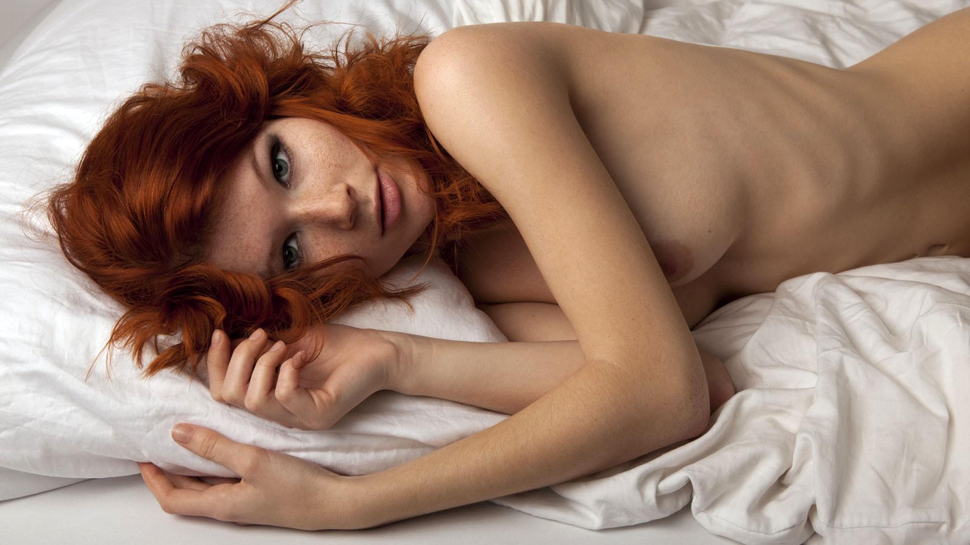 рыжие девушки интим фото женщина