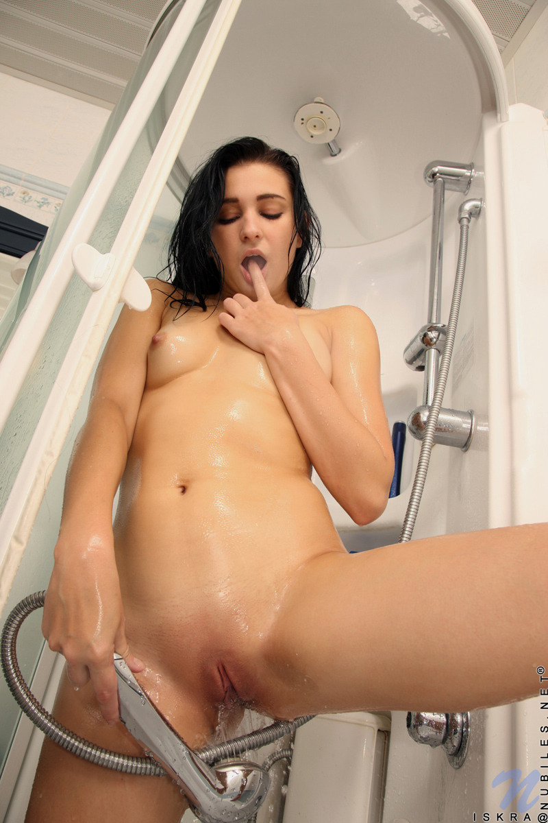some girl nude in shower