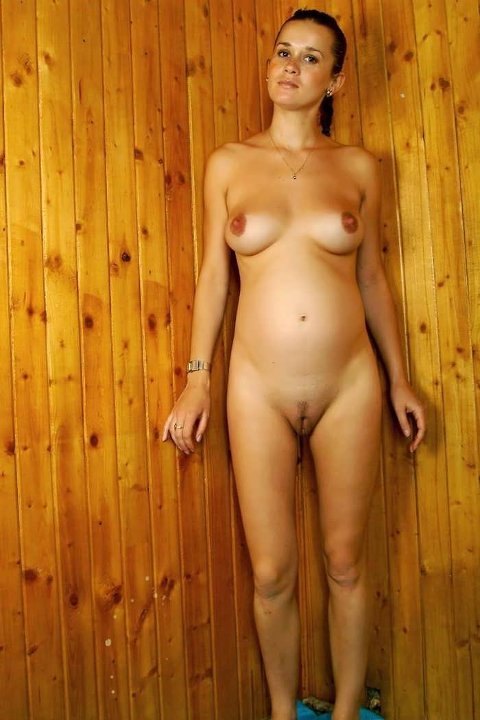 Naked iowa farm wife