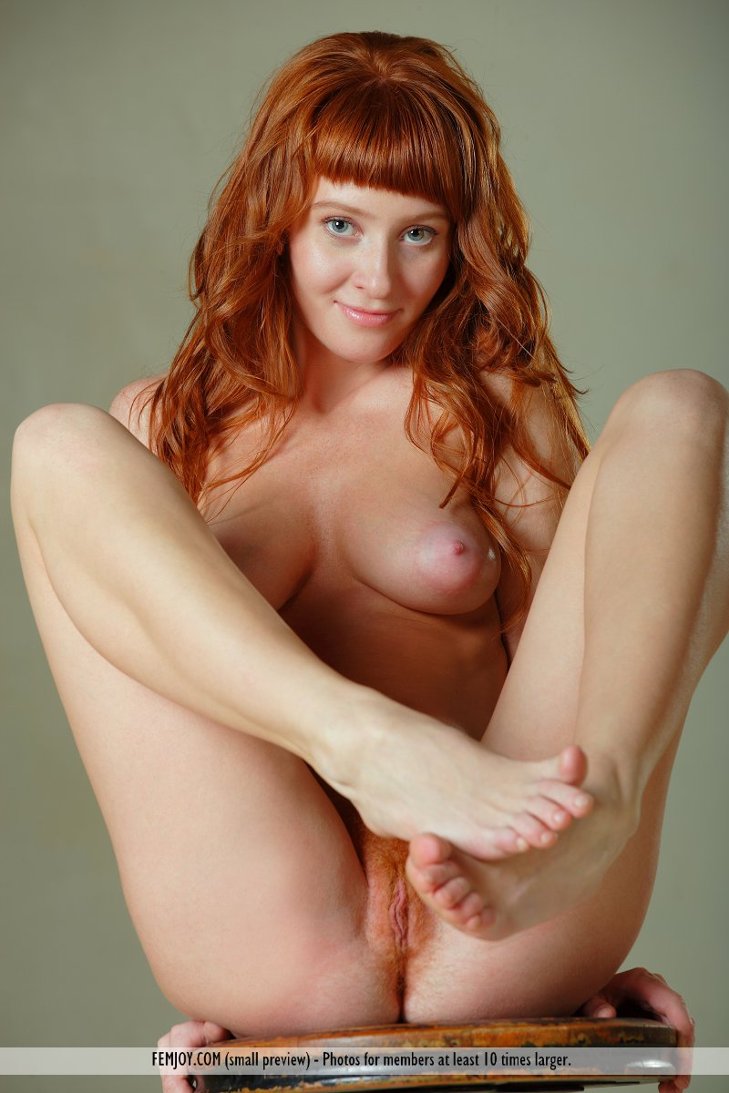 Apologise, that beautiful nude red headed women