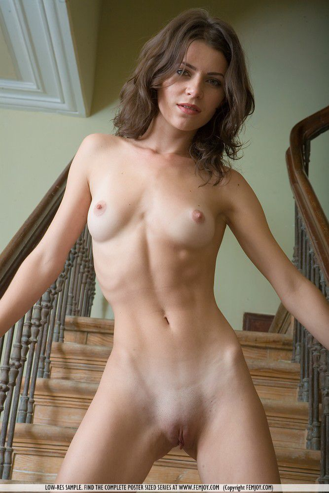 Quite Skinny petite nude self shot pic can not