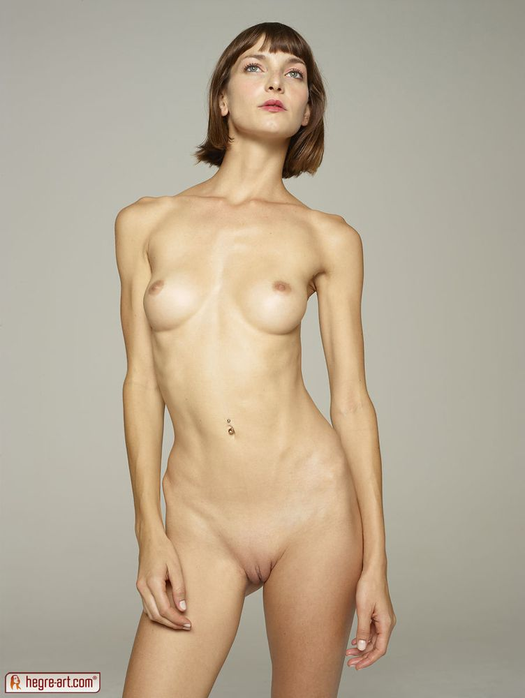 skinny girl silicone implants nude