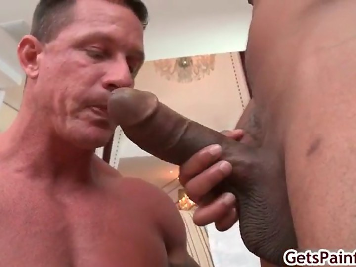 Black Dude In Dorag Sucks Cock
