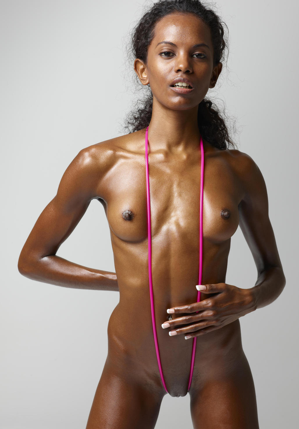 Think, skinny black girl nude