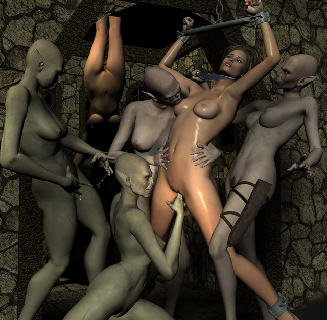 3d monster pics porn porn women gal fucked monster bound monsters