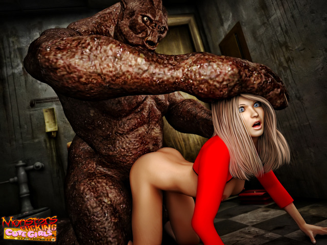 3d monster pics porn pics monster performance cool
