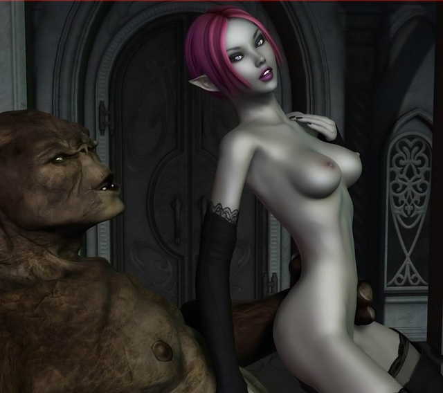 3d monster pics porn porn pics monster fantastic ogre hor
