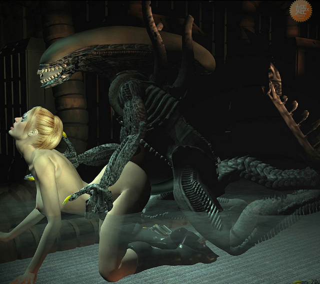 3d sex porn pics from behind comics monster blond takes alien