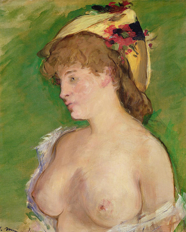 bare breasts pics large blonde breasts featured bare medium edouard manet
