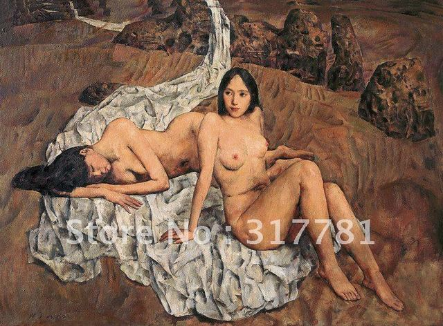 beautiful naked women free pics gallery beautiful art women nude chinese oil painting font wsphoto canvas promotion reproduction