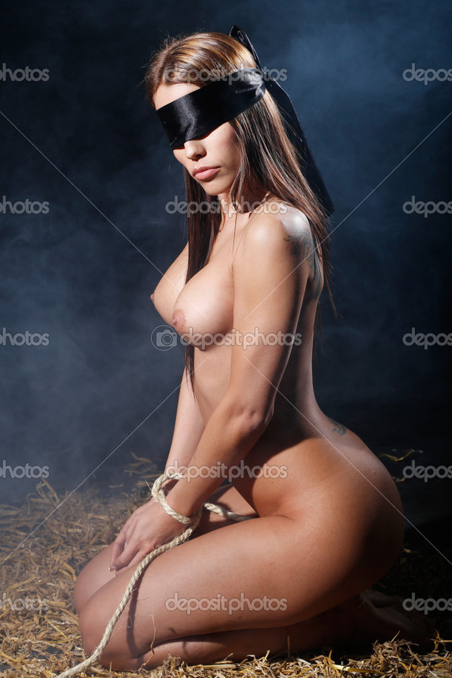 beautiful naked women in bondage photo beautiful nude naked woman bondage style stock depositphotos