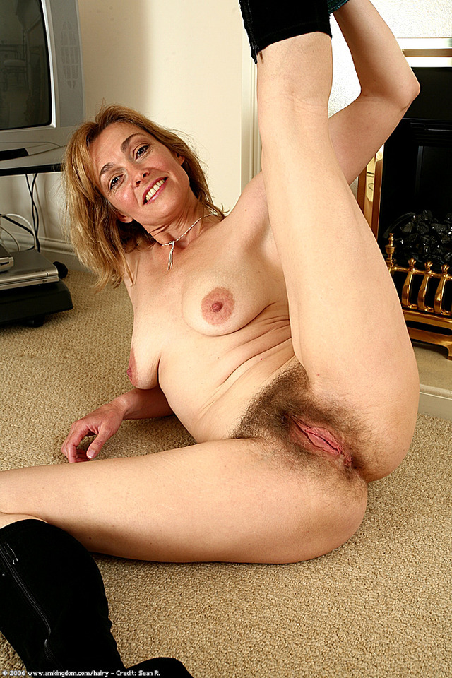 Hairy mature blond sex videos