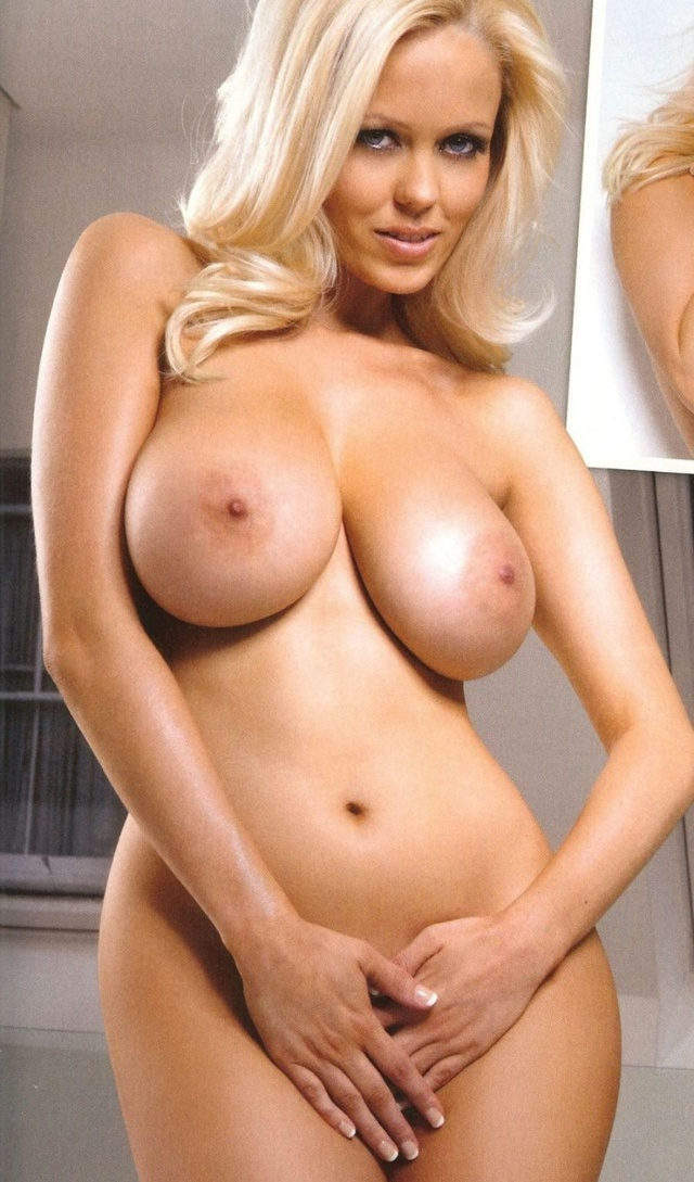 Nude women with the biggest boobs on earth