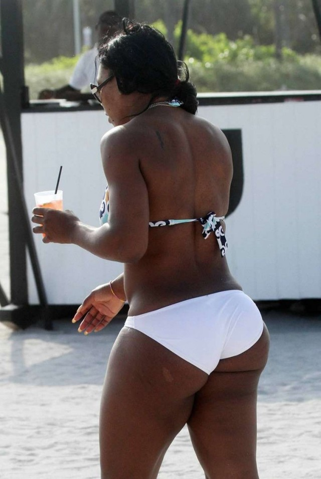 big butt and ass celeb booty serena williams birthmark
