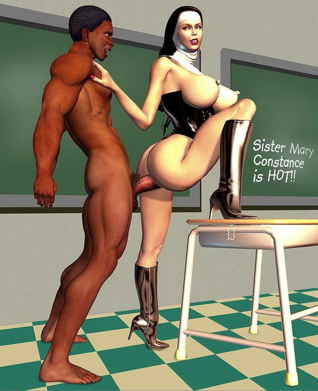 cartoon porn porn pics interracial fuck cartoon false modesty